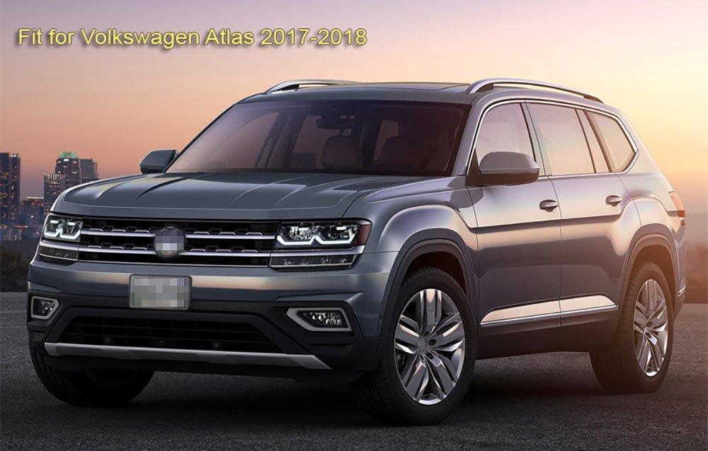 SPEEDLONG 4Pcs Car Mud Flaps Splash Guard Fender Mudguard for Volkswagen Atlas 2017 2018-Up