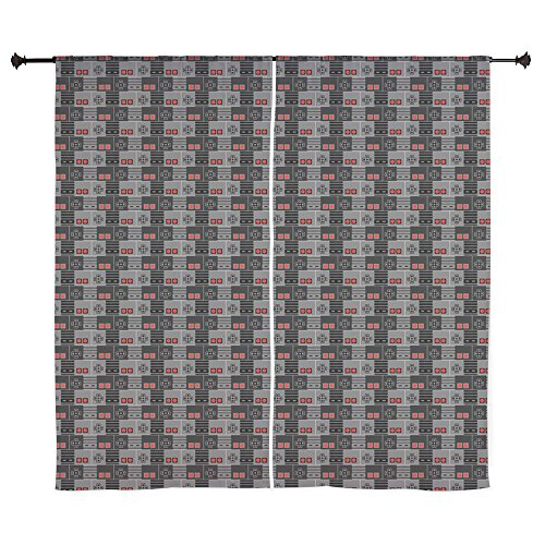 80s Sheer (CafePress - Play Me Curtains - 60