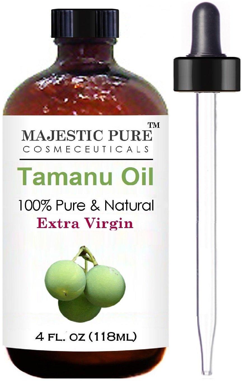 Majestic Pure Extra Virgin Tamanu Oil, 4 fl. Oz by Majestic Pure