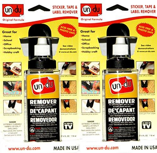 Bulk Buy: Un Du Products Un Du Adhesive Remover 4 Ounces 010