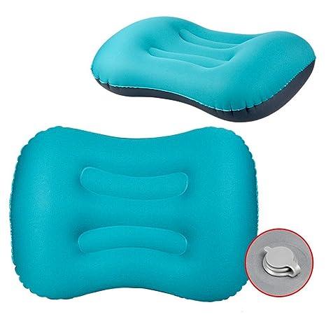 Almohada hinchable Botrong, almohada inflable para el cuello de ...