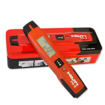 Hilti Pd 5 Nbsp Laser Entfernungsmesser 0 25 Bis 100 Nbsp M