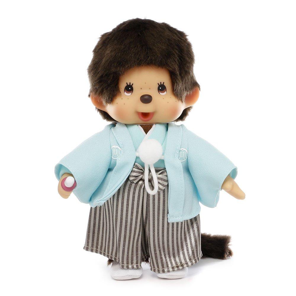 "Monchhichi Original Sekiguchi 8"" Tall Boy in Japanese Outfit"