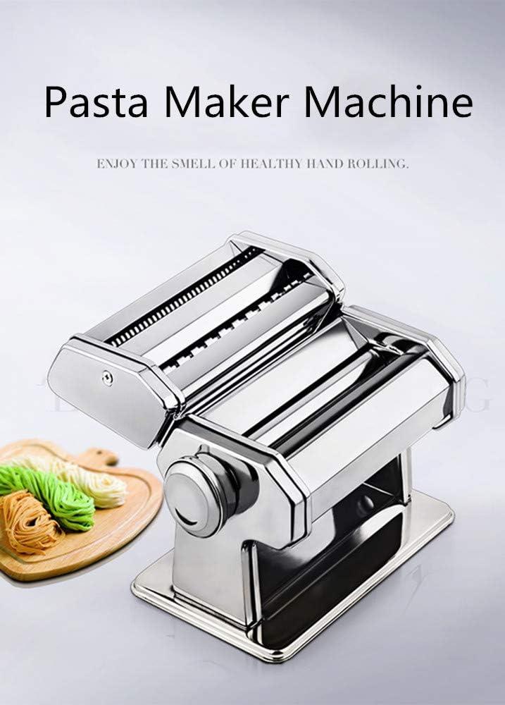Accessori per Utensile da Cucina #6 Macchina di Taglio di Pasta di Acciaio Inossidabile Holzsammlung Macchina per Pasta Fresca Manuale Tagliatelle Press Macchina per Noodle Maker
