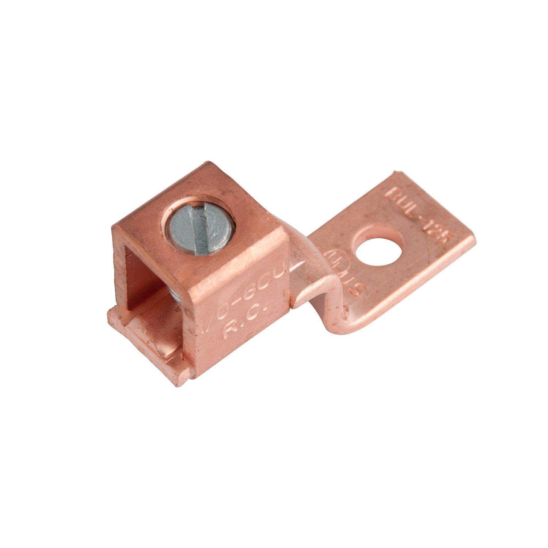 Gardner Bender GSLU-125 2PK 1/0-6AWG Mech Lug, Copper, Pack of 1 Actuant