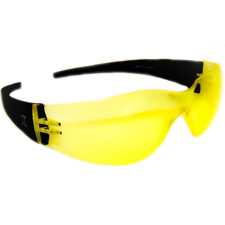 Pi Wear London SM dunkel getönte Bruchfeste Sonnenbrille mit
