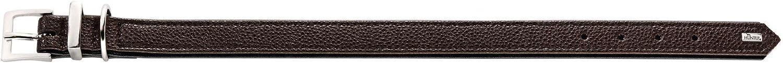 Breite 2,2 cm Gr/ö/ße 30 Himbeer//Schwarz HUNTER Hundehalsband Vega