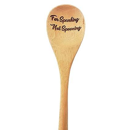 Amazoncom Bada Bing Kitchen Grandmas Wooden Spanking Spoon