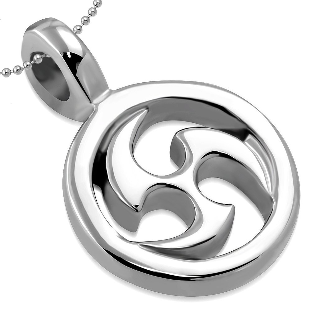 BSJ energía estrella ninja de acero inoxidable símbolo ...