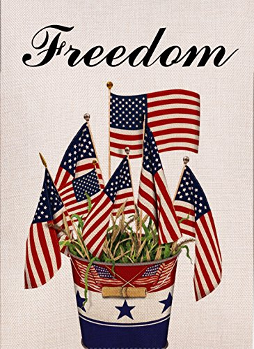 Dyrenson Home Decorative Outdoor 4th of July Patriotic Freed
