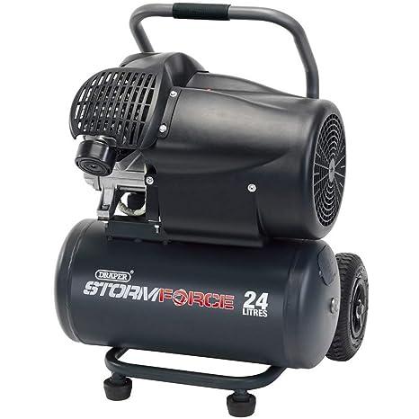 Draper da25/412tvt 3 HP compresor de aire, 230 V, Azul