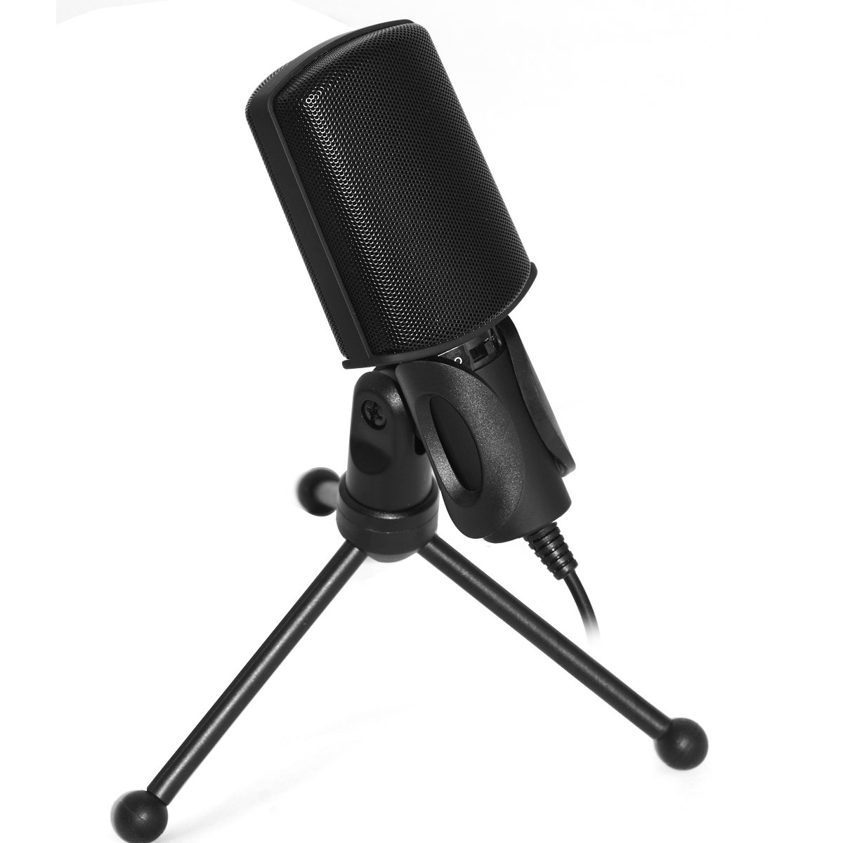 Chicone Professional Condenser Microphone with Stand SF-920 Recording Microphone for PC Laptop