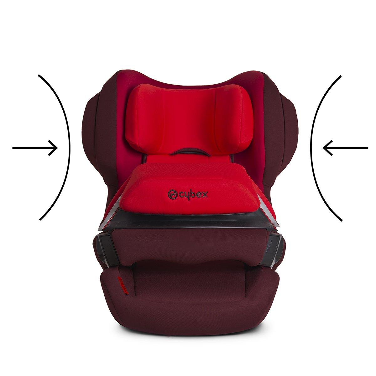 9-18 kg Silla de Coche para Ni/ños con Isofix Rumba Red Cybex Silver Juno 2-Fix Grupo 1
