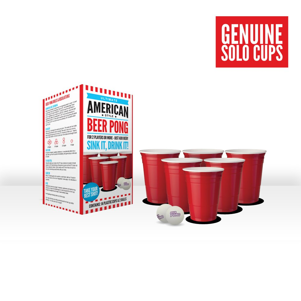Ultimate American Style Beer Pong - Genuine Solo Cups BooozInc HRE-0023