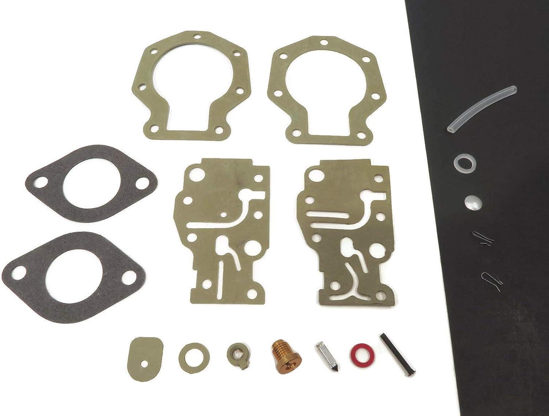 The ROP Shop | Carburetor Repair Kit for 1993,1994 Johnson J10RELETM, TJ10RELETM, J10RELERB