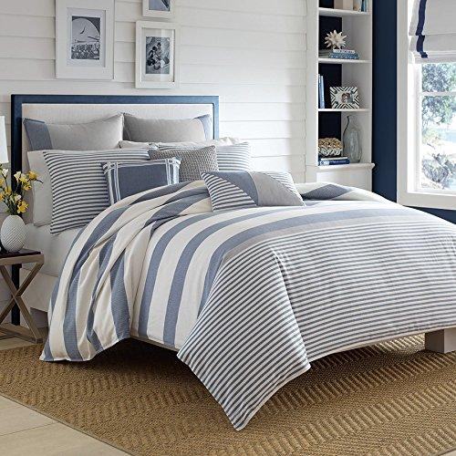 Nautica Fairwater Comforter Set Full/Queen Blue ()