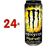 Monster Energy Drink Rehab 24 x 0,5l Dose (Energy mit Zitronentee)