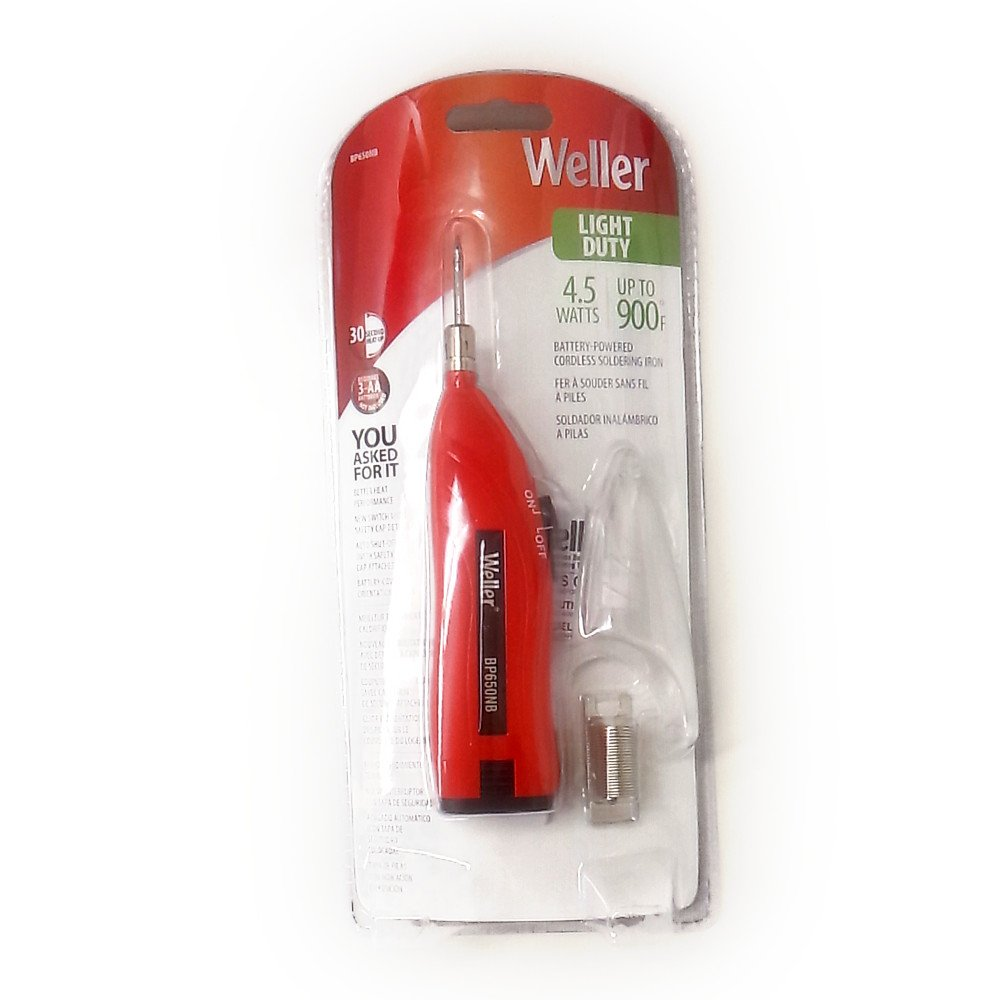 Amazon.com: Weller BP650NB BATTERY SOLDERING IRON KIT,NO BATT by Apex Tool Group: Home Improvement