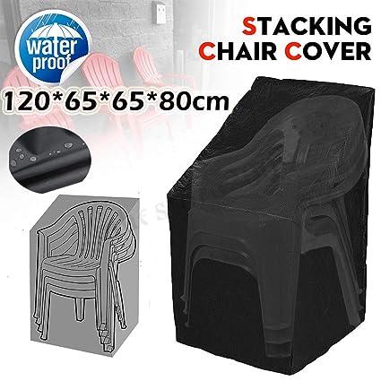 Amazon.com: Vicky – Fundas para sillas de jardín de tela ...