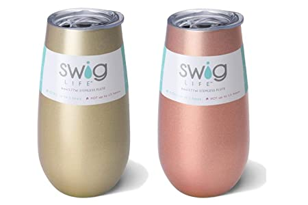 12 oz Occasionally Made 3 Pack Green Swig Wine Cup