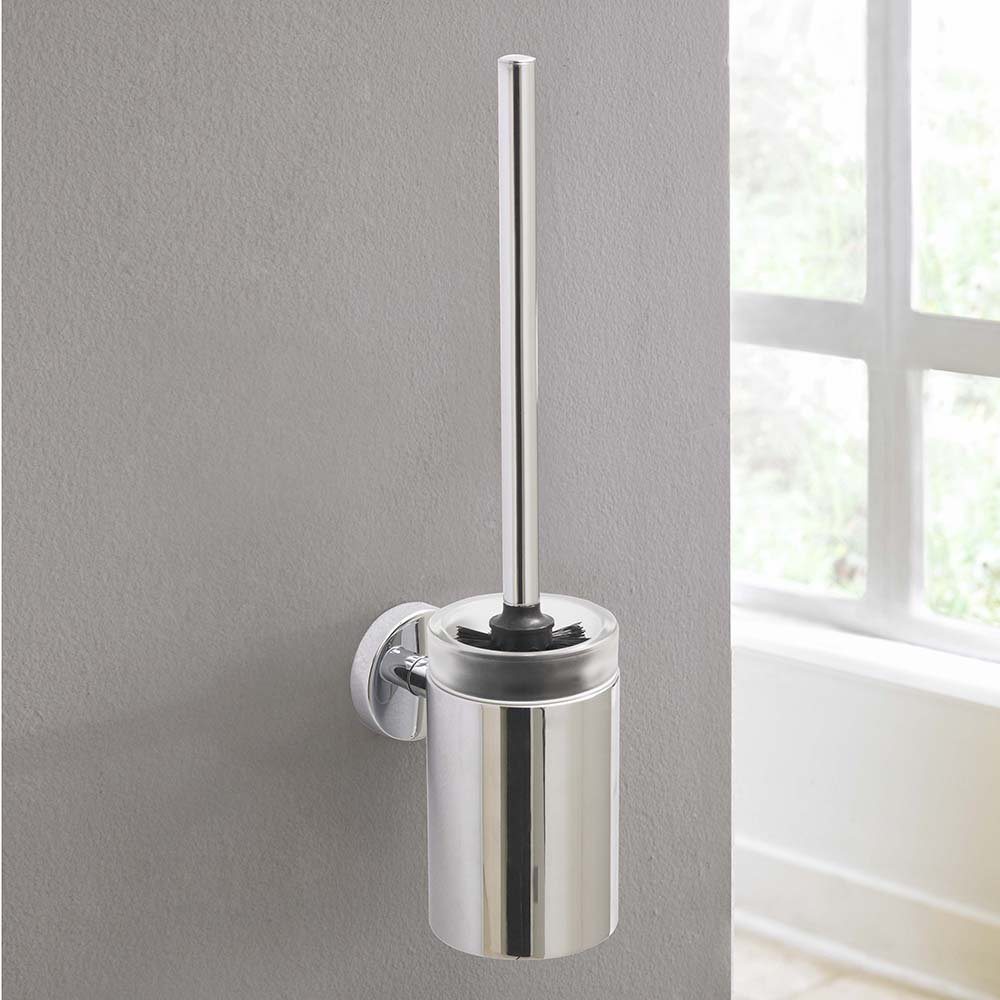 Amazon.com: Hansgrohe 40522820 S and E Toilet Brush with Holder ...