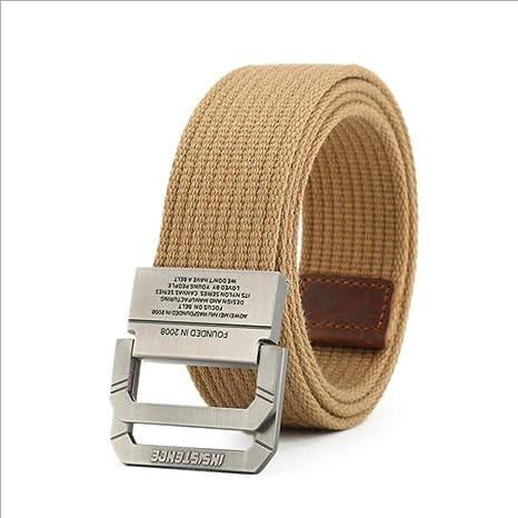 YUANZYYD Cinturón De Lona,Cinturón De Lona para Hombre Y Mujer De ...