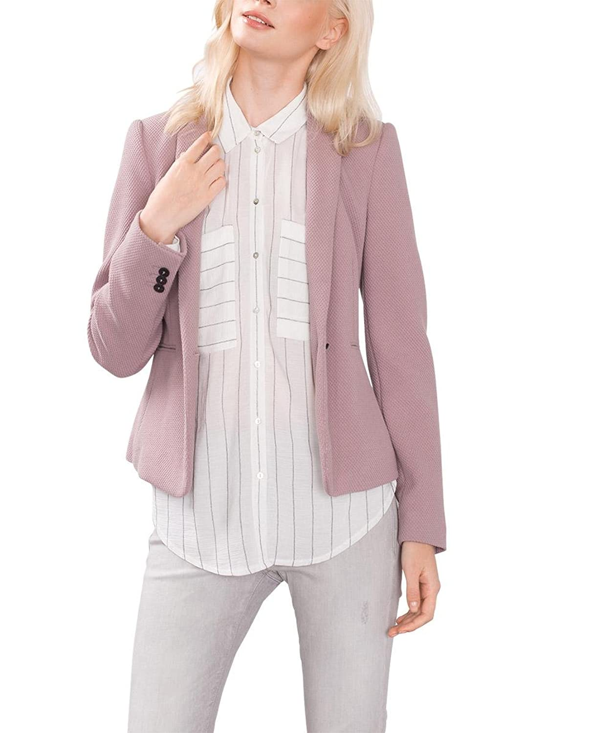 ESPRIT Collection Damen Blazer 086eo1g030