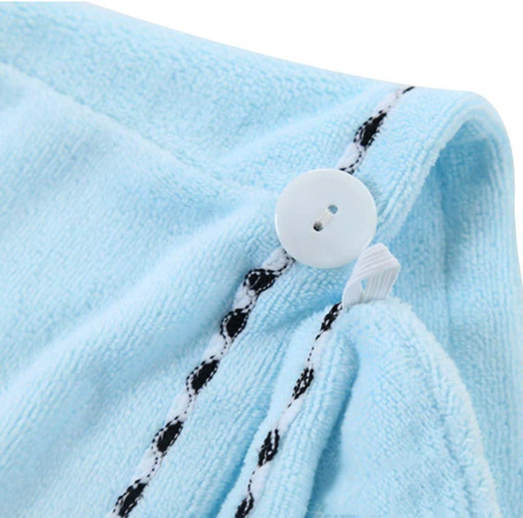 3PCS Serviette en Microfibre tr/ès Absorbante L/ég/ère 25/×68cm 99AMZ Lot de 3 Turban en Microfibre /à s/échage Rapide pour Cheveux-Super Absorbant,Serviette Turban pour Un S/échage Rapide des Cheveux