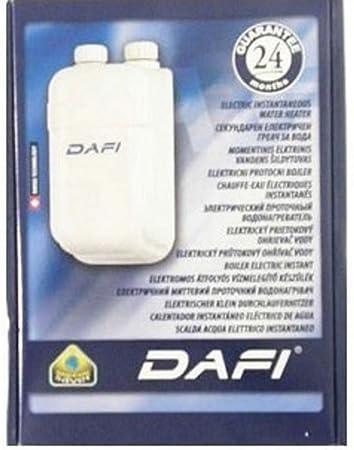 dafi klein durchlauferhitzer 5,5kw untertisch: amazon.de: baumarkt - Kleindurchlauferhitzer Für Die Küche