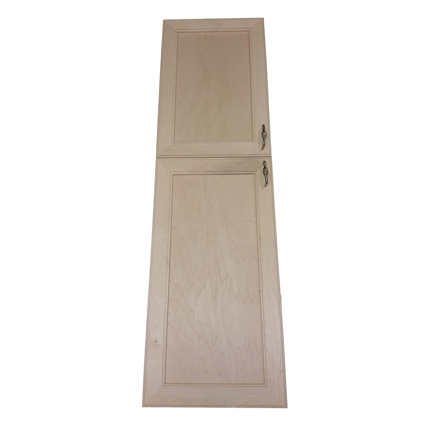 Wood Cabinets Direct MAX-BCH-254-2DRP Maxwell Recessed Two Door Frameless Pantry Cabinet, 54'