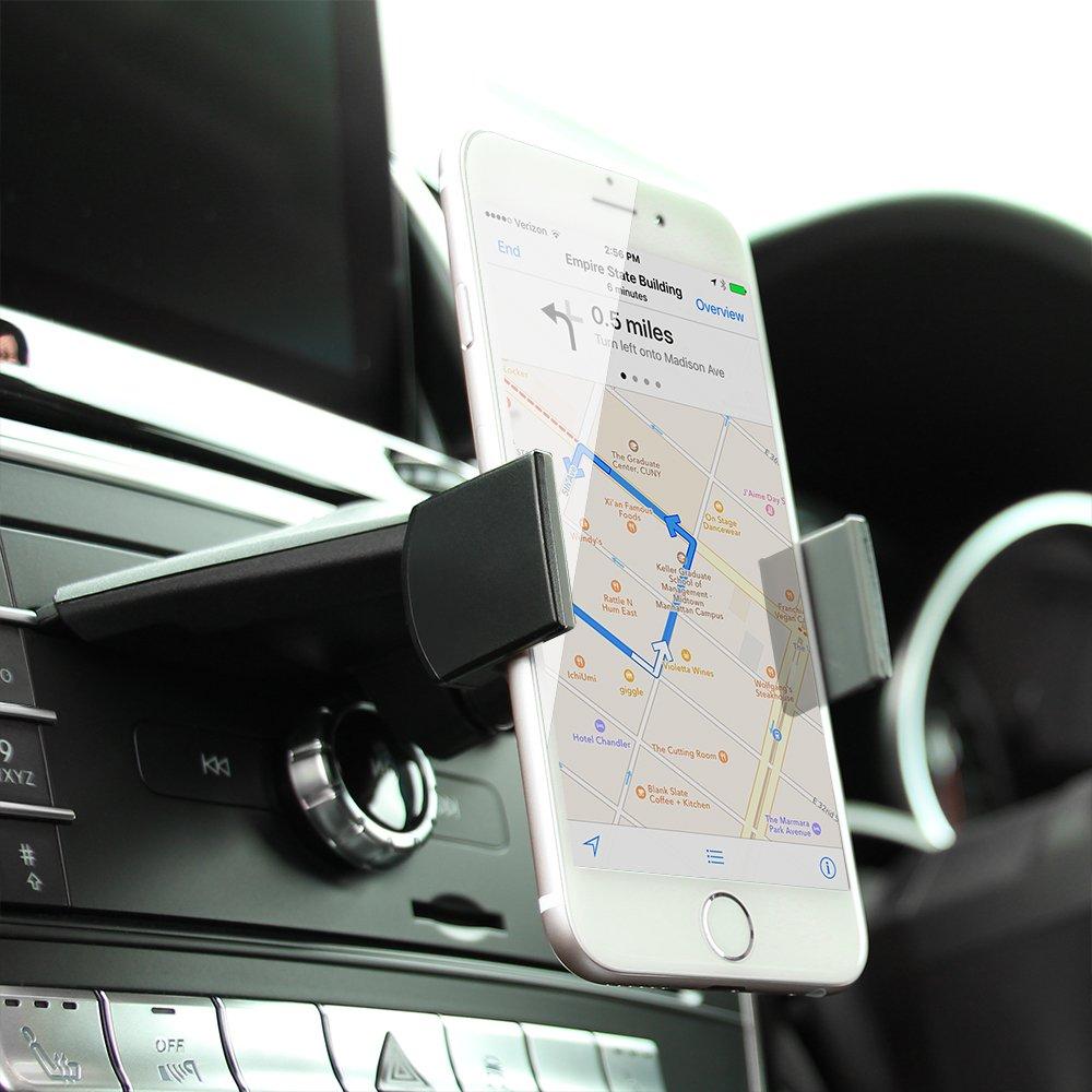 Koomus CD-Air Pro Universal Smartphone Car Mount Holder Cradle for CD Slot CD-AIR-PRO