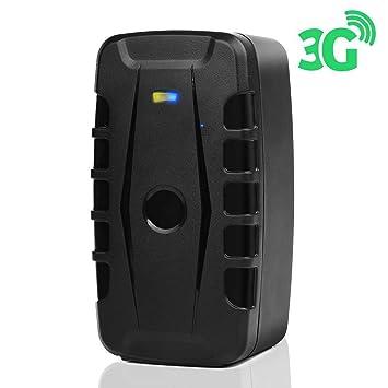 Localizador GPS 3G, Versión 2019 - Antirrobo, Seguro para Remolque y Coche- Batería Dura hasta 4 Meses (10000 mAh, 3G) - Variante Localización App…