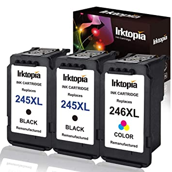 3PK CL-246XL Color Ink Cartridge Compatible For Canon PIXMA MG2920 MG2922 MX492