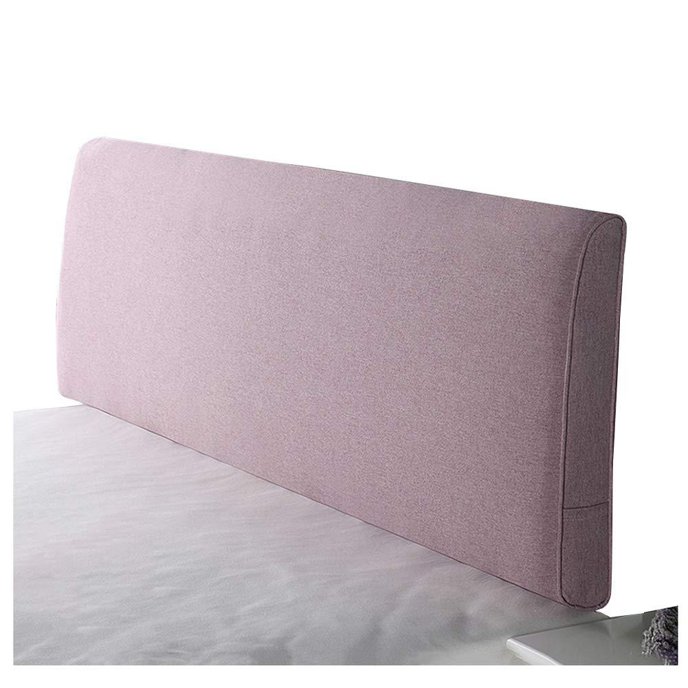 人気ブランドの ベッドサイド クッション ベッドの背もたれヘッドボード付き/なしのフィットベッド リネン 取り外し可能かつ洗濯可能 ベッドサイド、 200cm 8色 (色 Light : Yellow-A, サイズ さいず : 200cm) B07R5R4FTK 200cm|Light Purple-B Light Purple-B 200cm, homegrow:792721b5 --- calendarfactory.ie