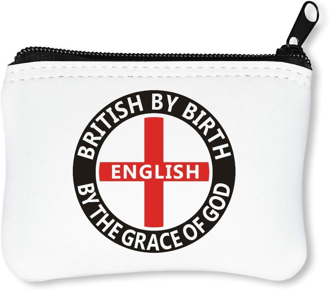 English by The of God Car Sticker Billetera con Cremallera Monedero Caratera: Amazon.es: Equipaje