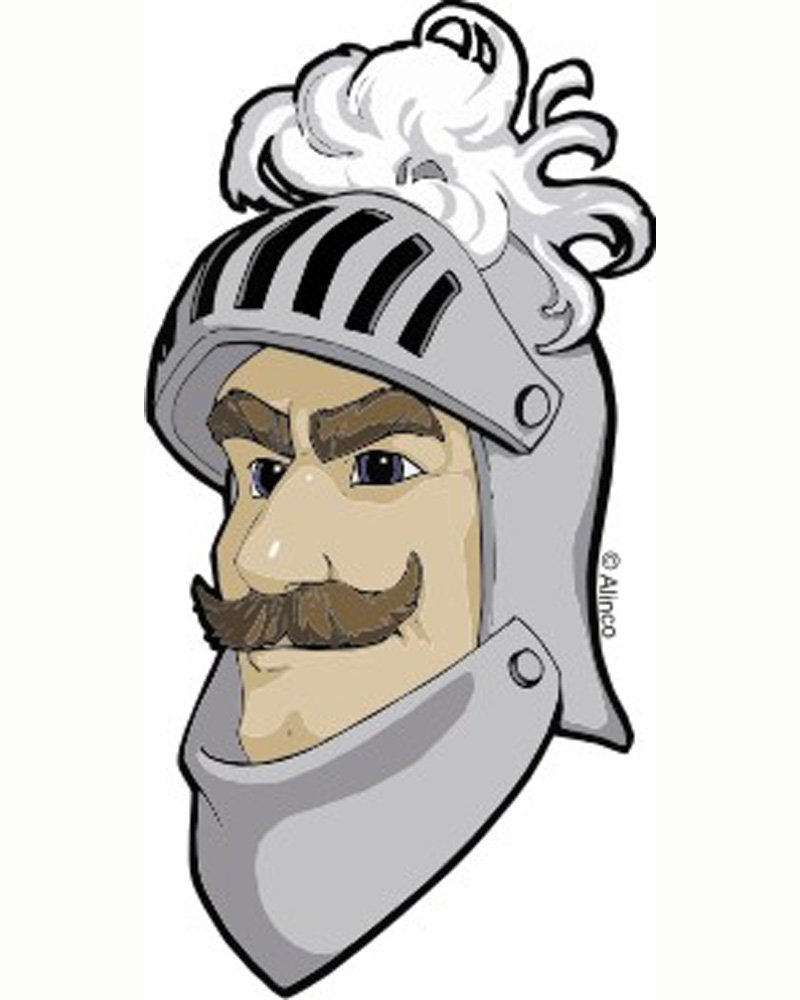 ALINCO Knight Temporary Tattoos Quantity 1000 by Alinco Costumes (Image #1)