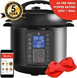 Mealthy MultiPot 9-in-1 Programmable Electric Pressure Cooker with Stainless Steel Pot, Steamer Basket and Instant Access (Standard Size)