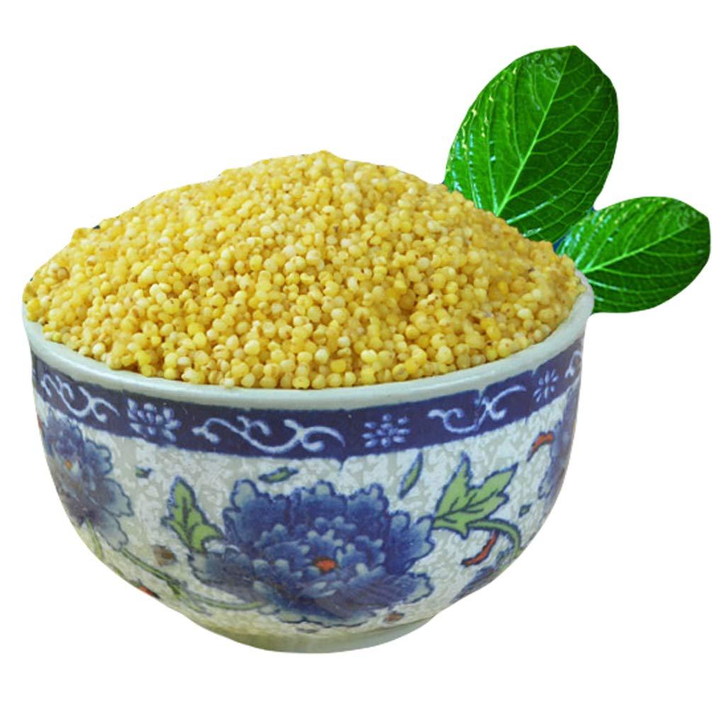 Chinese Shanxi Fresh Yellow Millet Coarse Food Grain Cereals for Brewing Liquor Making Porridge 山西黄小米