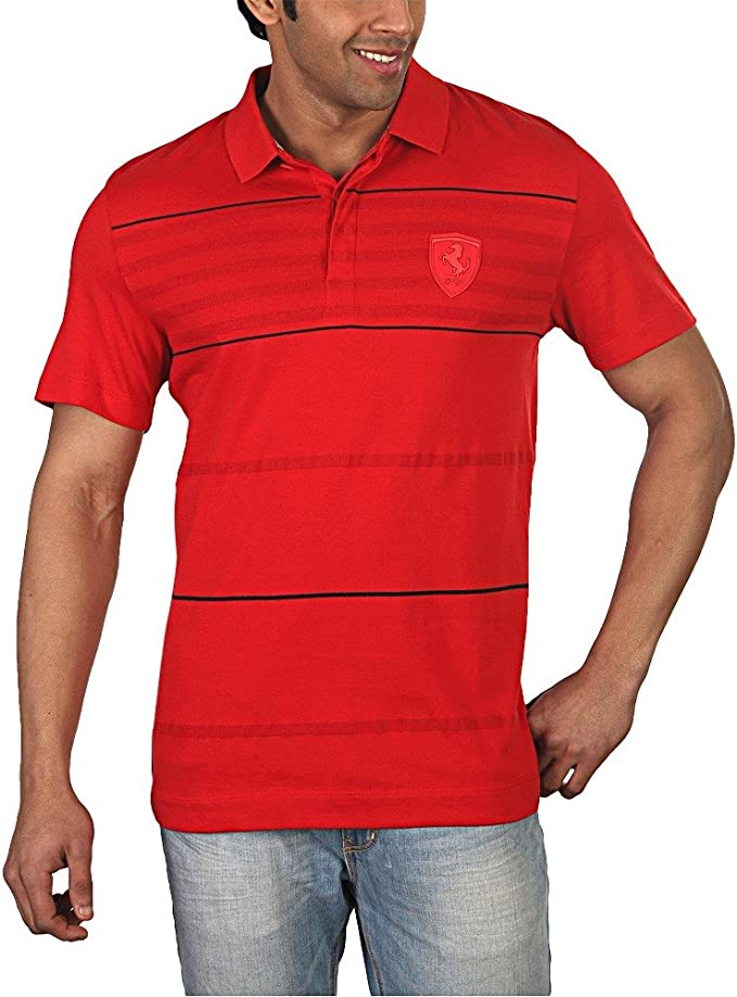 Puma – Polo para Hombre, Color Rojo Rojo Rosso X-Small: Amazon.es ...