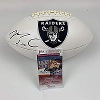 $114 » Autographed/Signed Maxx Crosby Las Vegas Oakland Raiders FS White Panel Logo Football JSA COA