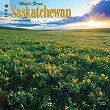 Saskatchewan, Wild & Scenic 2018 12 x 12 Inch Monthly Square Wall Calendar, Canada Scenic Nature
