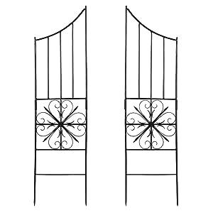 Achla Designs Aldrich Trellis, Set of 2 Side Panels