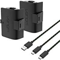 Venom High Capacity 1100mAh Rechargeable Battery Twin Pack - Black (Xbox Series X & S/Xbox One)