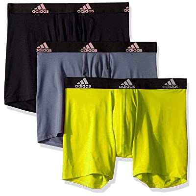 adidas Men's Sport Performance Climalite Boxer Briefs (3 Pack) Multi Medium …: Sports & Outdoors