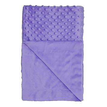 Baby girl boy unisex Blue spotty mink wrap baby blanket pram car new gift fleece
