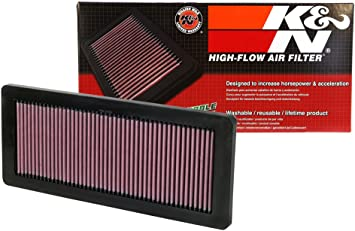 33-2962 K/&N Replacement Air Filter High Flow Design for Increased Performance