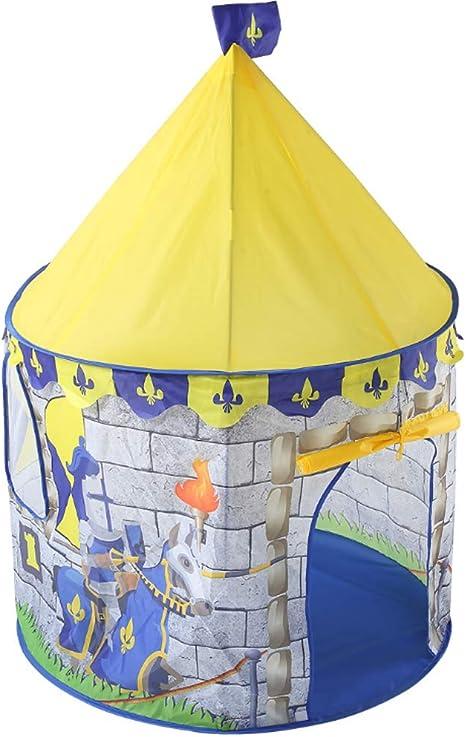 LAL6 Tienda de campaña para niños Juego de Juguete para niños y niñas en el Interior Casa al Aire Libre Castillo Casa de Mosquitos de la Princesa de los niños: Amazon.es: Deportes