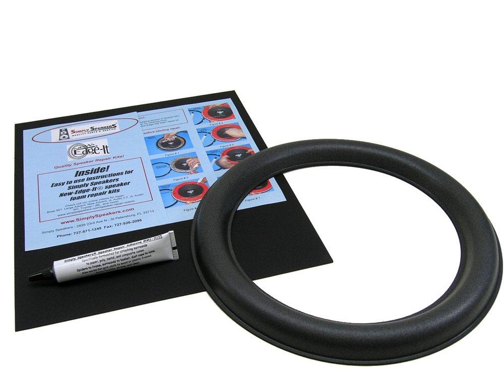 JL Audio 12W6v2-D4, 12W6v2 Speaker Foam Edge Repair Kit (Single)