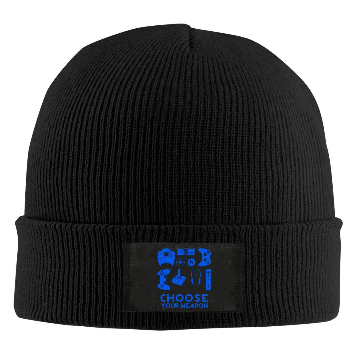 BF5Y6z/&MA Unisex Choose Your Weapon Gamer Knitting Hat 100/% Acrylic Fashion Skiing Cap