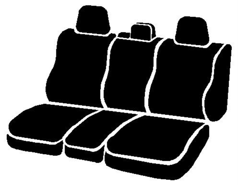 FIA OE32-51 GRAY Custom Fit Rear Seat Cover Split Seat 60//40 Tweed Gray